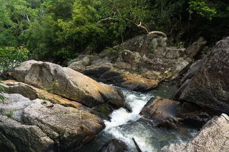 Than Sadet Waterfall National Park, Koh Phan-gan, Thailand