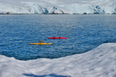 Searching for the Unknown: Kayaking & Camping in Antarctica
